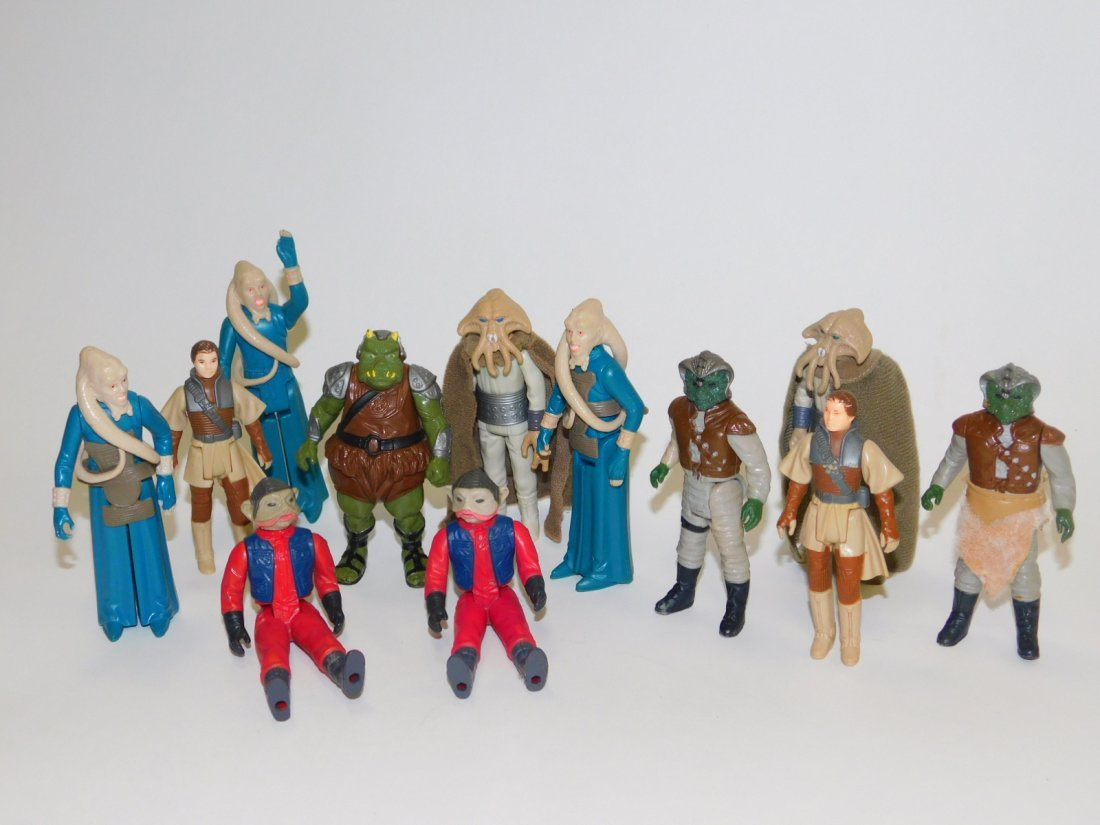 1983 STAR WARS RETURN OF THE JEDI ACTION FIGURES