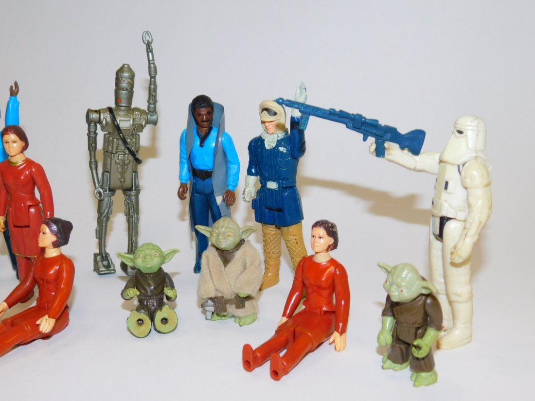 1980 STAR WARS, EMPIRE STRIKES BACK ACTION FIGURES - 2