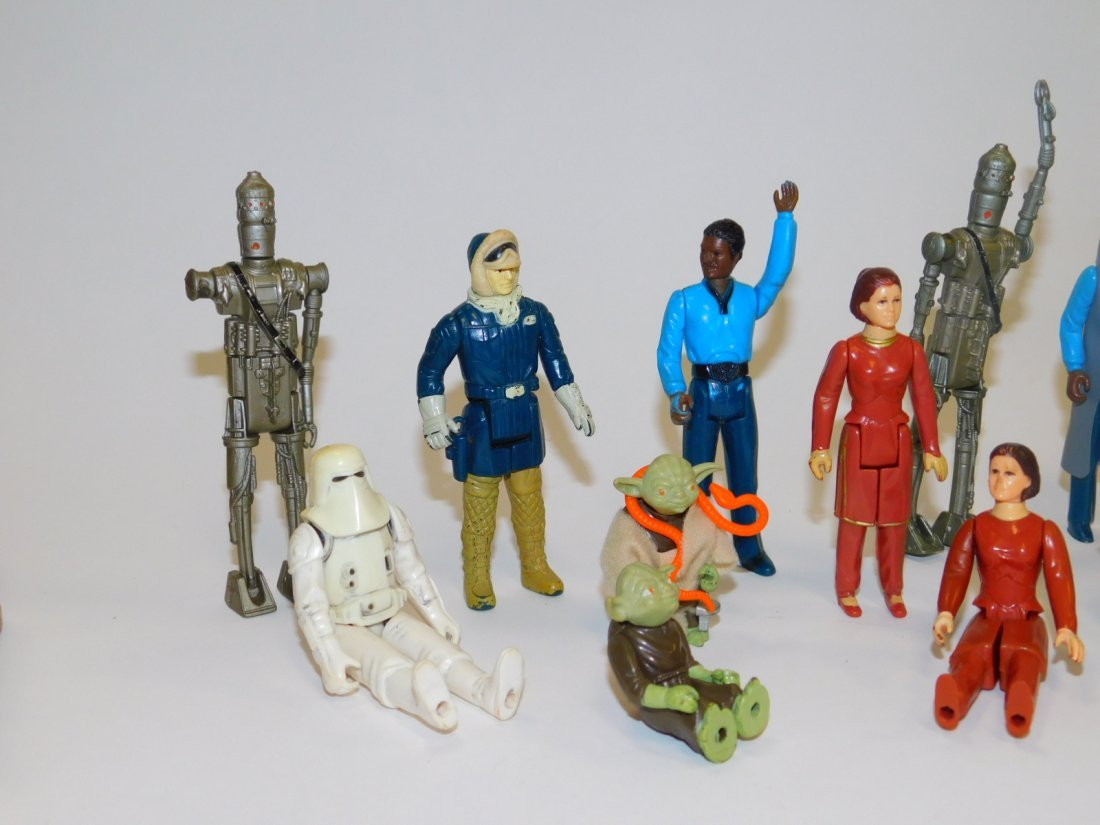 1980 STAR WARS, EMPIRE STRIKES BACK ACTION FIGURES - 3