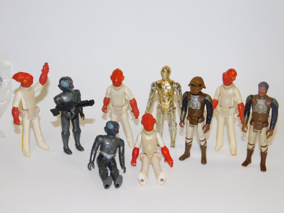 1982 STAR WARS, EMPIRE STRIKES BACK ACTION FIGURES