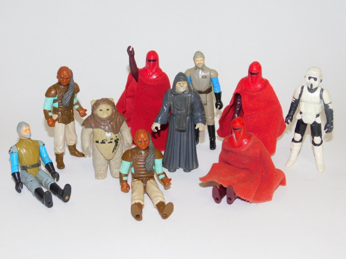 STAR WARS, RETURN OF THE JEDI ACTION FIGURES