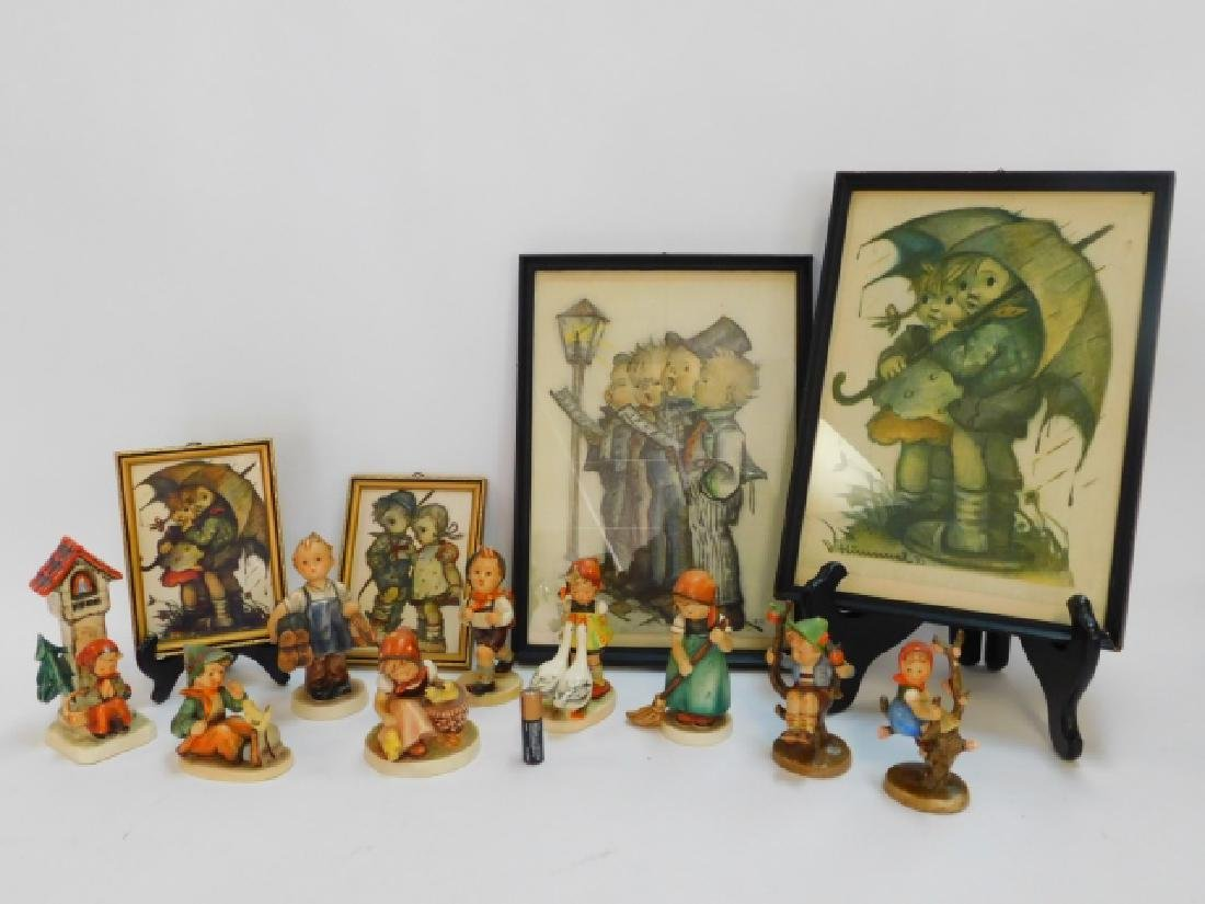 HUMMEL FIGURINES AND PRINTS