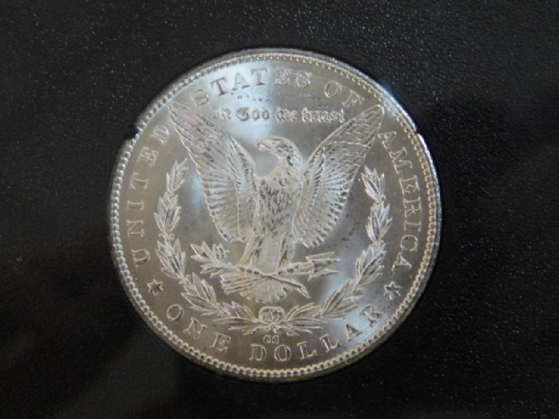 1884 CARSON CITY SILVER DOLLAR COIN - 2