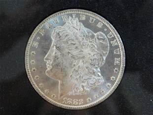 1882 CARSON CITY SILVER DOLLAR COIN