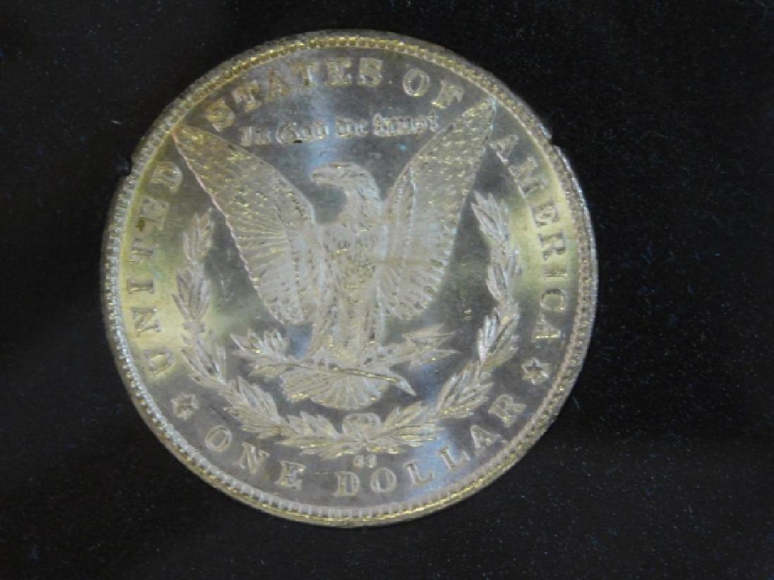 1882 CARSON CITY SILVER DOLLAR COIN - 2