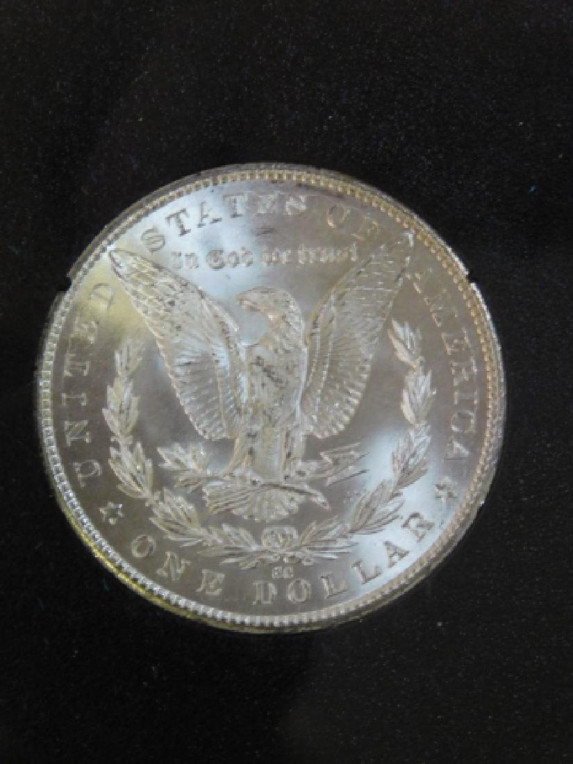 1883 CARSON CITY SILVER DOLLAR COIN - 2