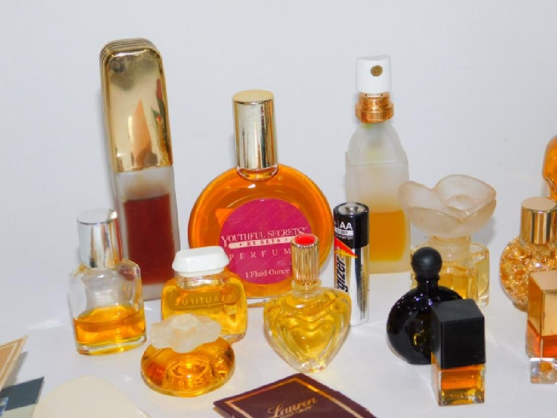 COLLECTION OF PERFUME BOTTLES - 2