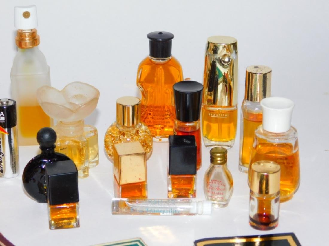 COLLECTION OF PERFUME BOTTLES - 3