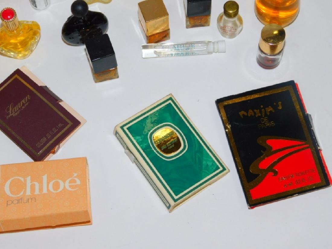 COLLECTION OF PERFUME BOTTLES - 5