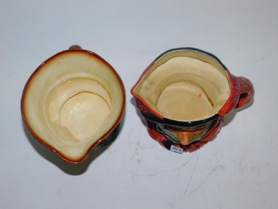 TWO LARGE ROYAL DOULTON TOBY MUGS - 5