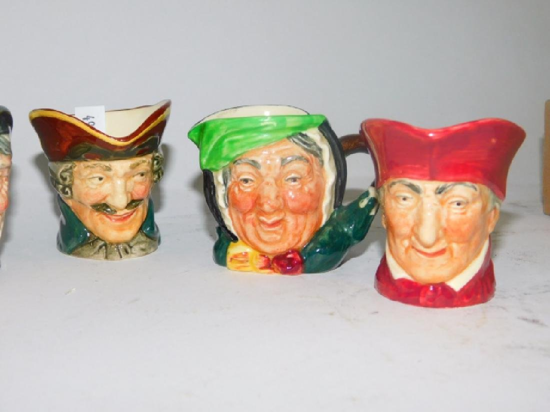 FIVE ROYAL DOULTON TOBY MUGS - 4