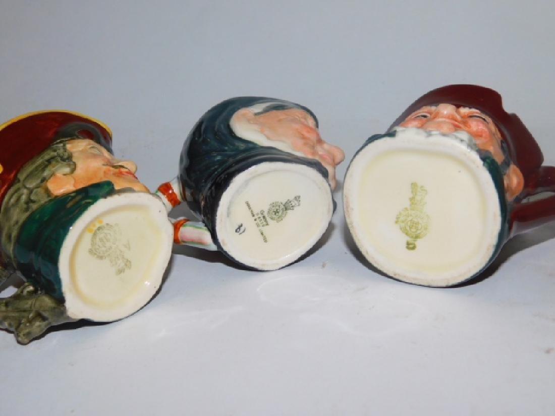 FIVE ROYAL DOULTON TOBY MUGS - 6