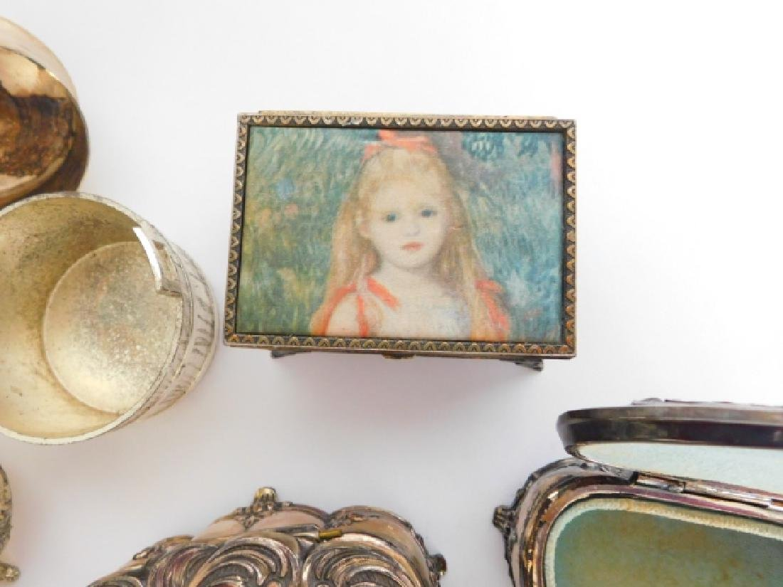 COLLECTION OF TRINKET BOXES - 3
