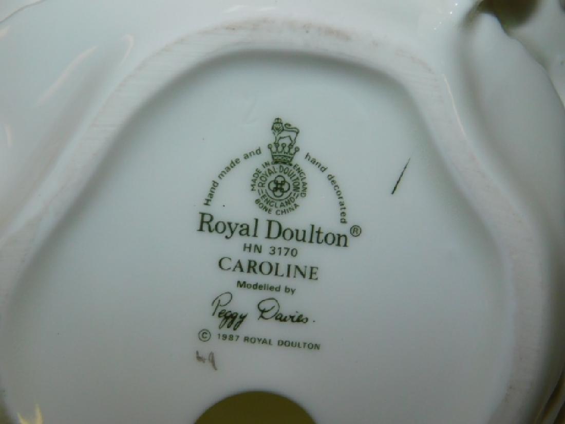 FOUR ROYAL DOULTON FIGURES - 9