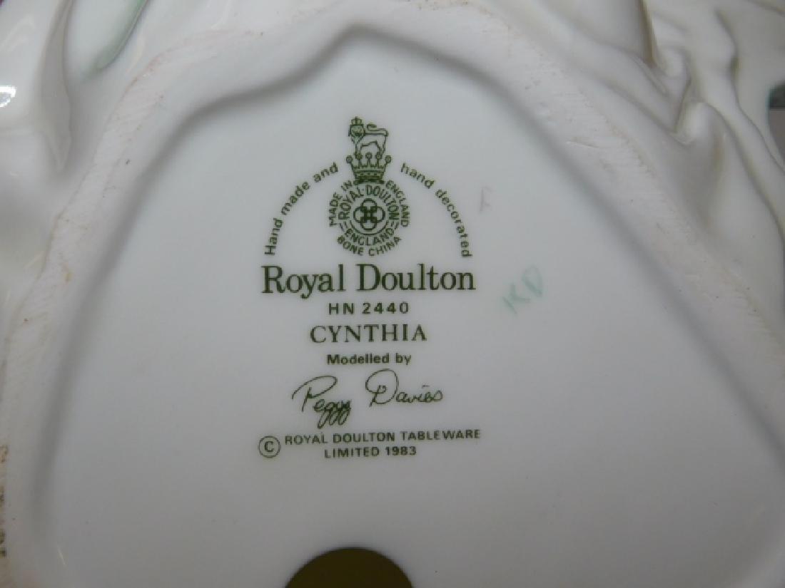 FOUR ROYAL DOULTON FIGURES - 7