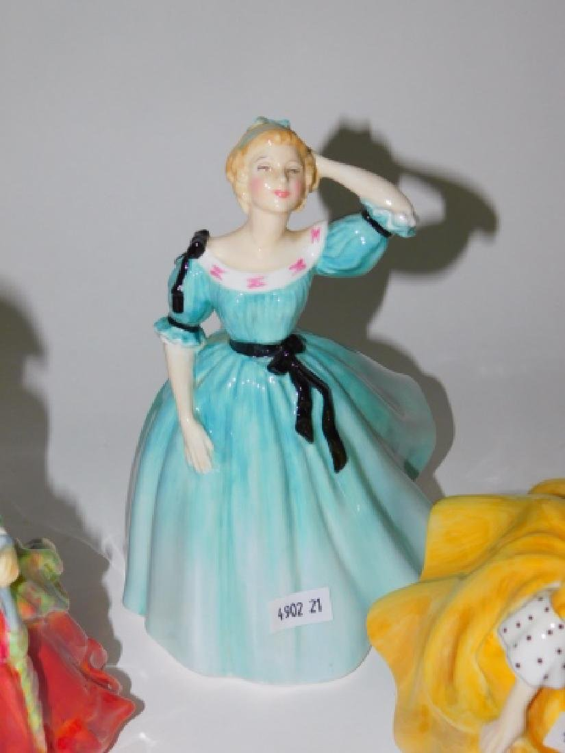 FOUR ROYAL DOULTON FIGURES - 3