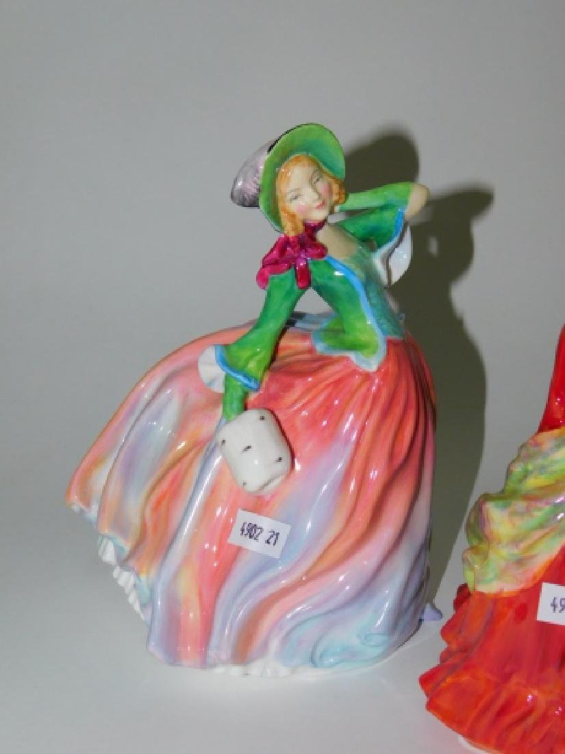 FOUR ROYAL DOULTON FIGURES - 5