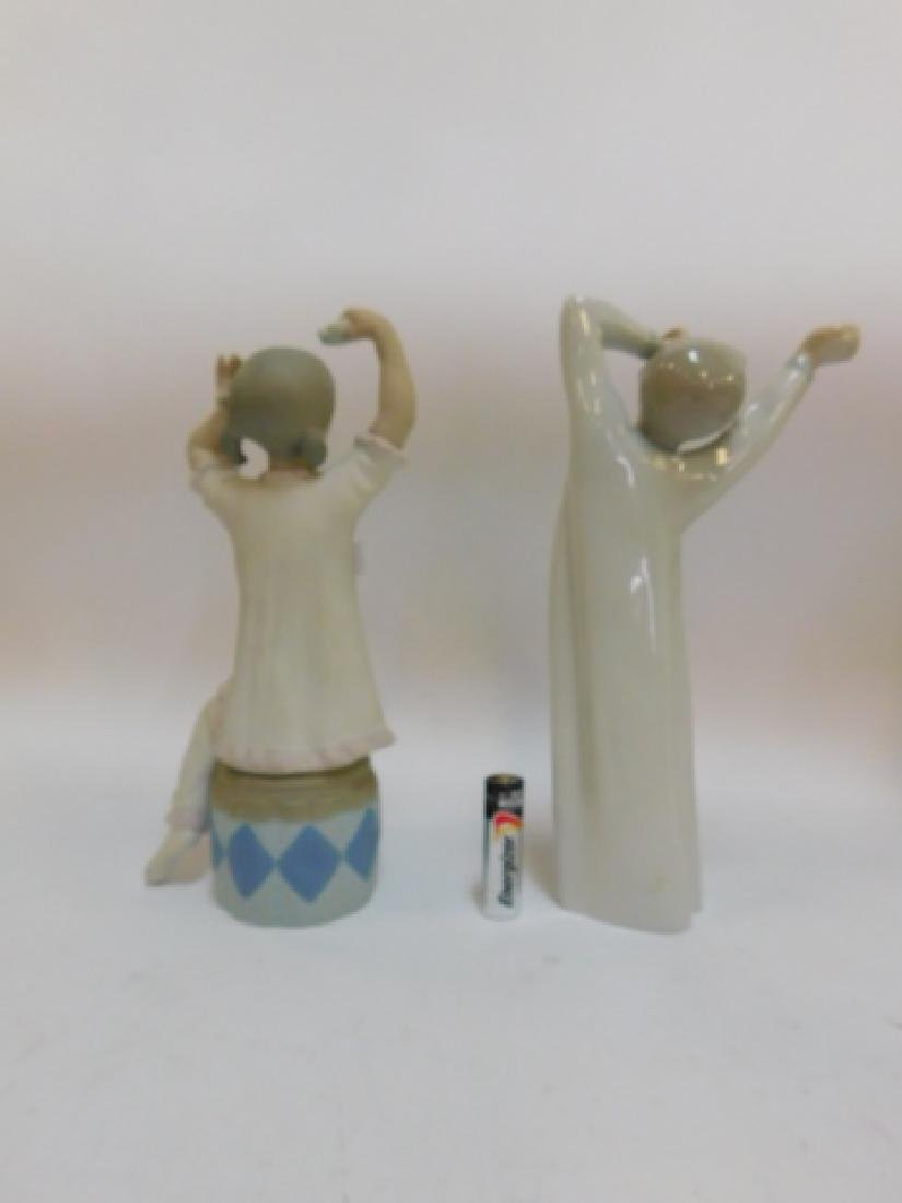 LLADRO, GIRL SHAMPOOING AND BOY YAWNING - 4