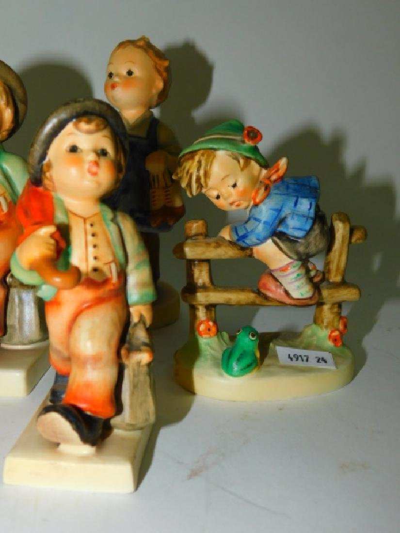 COLLECTION OF 7 HUMMEL FIGURINES - 3