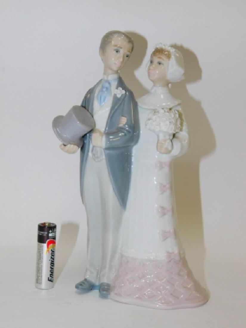 LLADRO, WEDDING BRIDE & GROOM