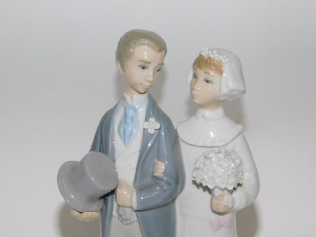LLADRO, WEDDING BRIDE & GROOM - 3