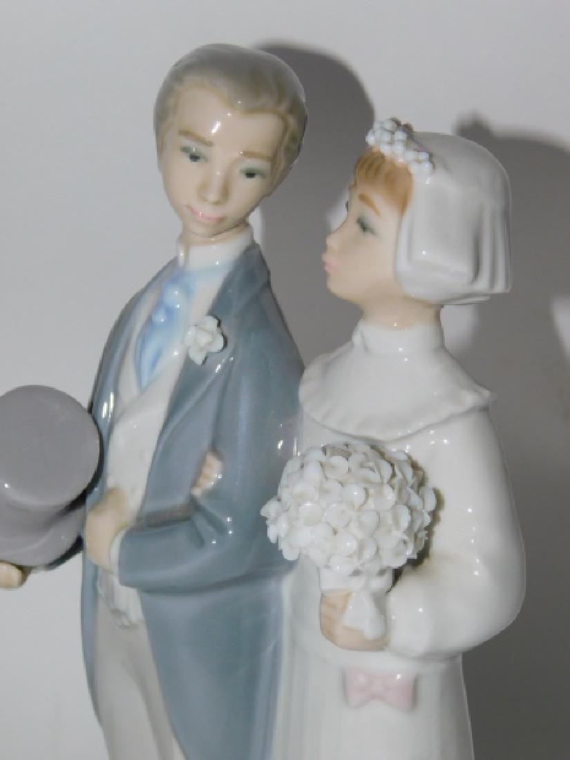 LLADRO, WEDDING BRIDE & GROOM - 4