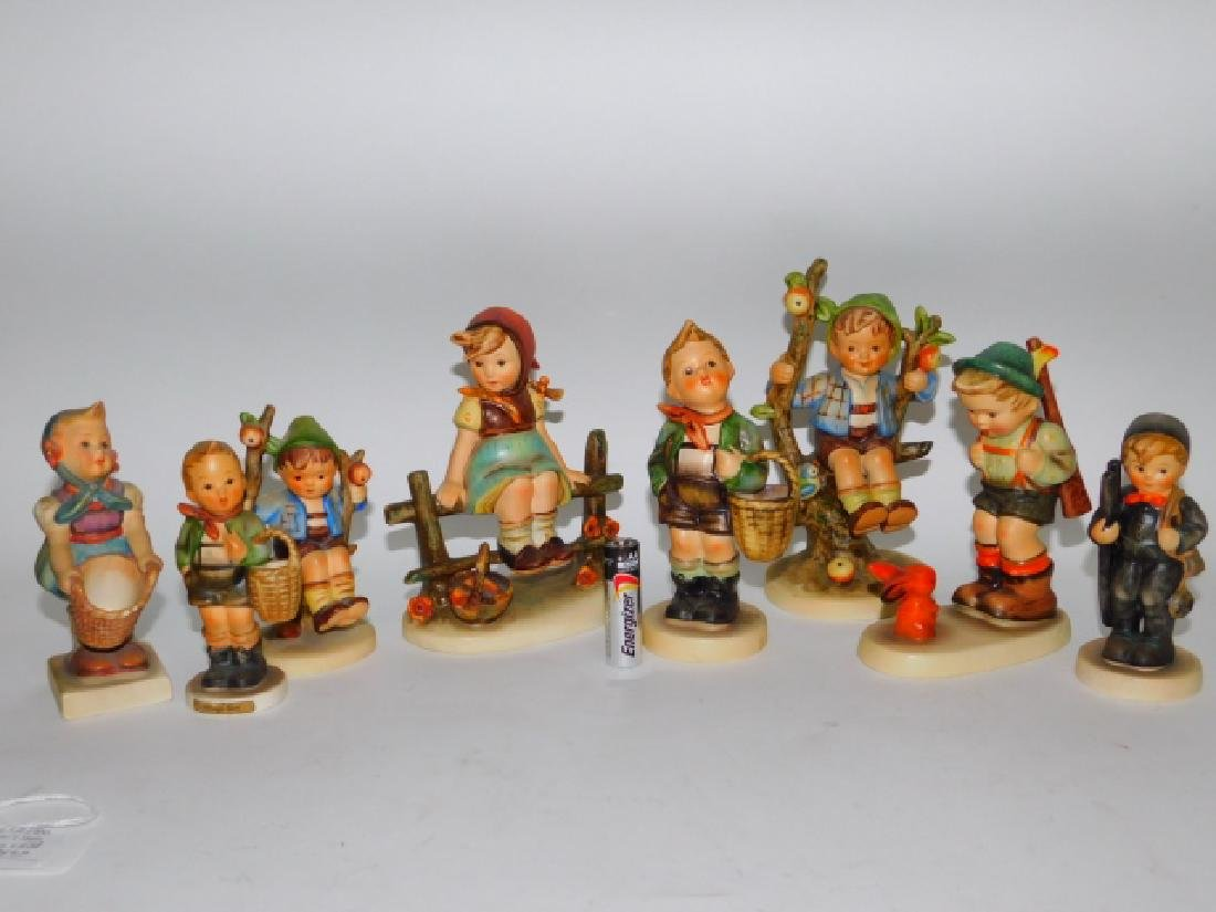 EIGHT HUMMEL FIGURINES