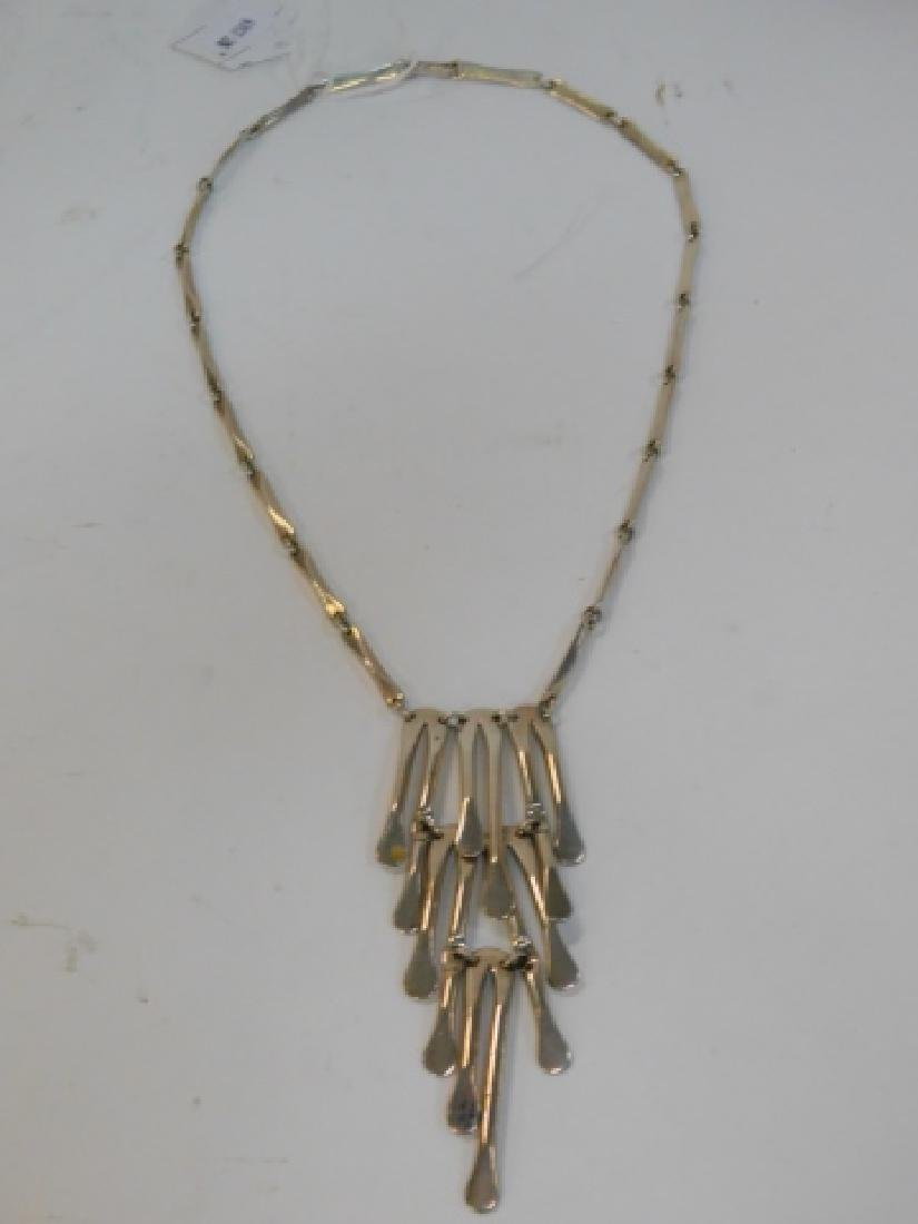 STERLING SILVER NECKLACE - 3