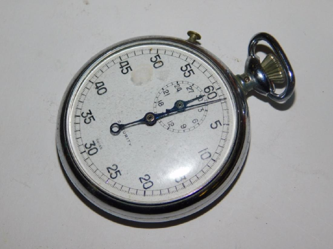 CIGAR FANS, POCKET WATCH, AND SECURITY BADGE - 4