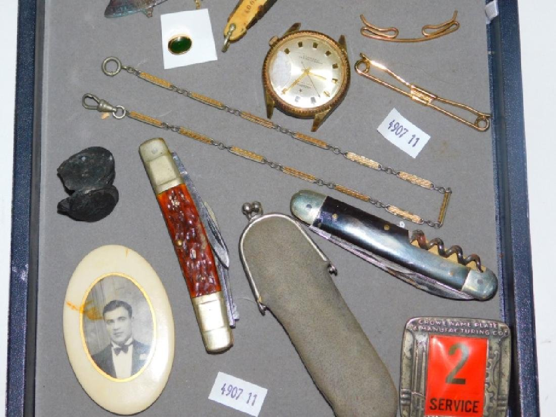 VINTAGE MONEY CLIPS, KNIVES, AND TRINKETS - 3