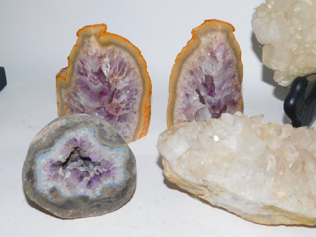 COLLECTION OF CRYSTALS AND GEODES - 2