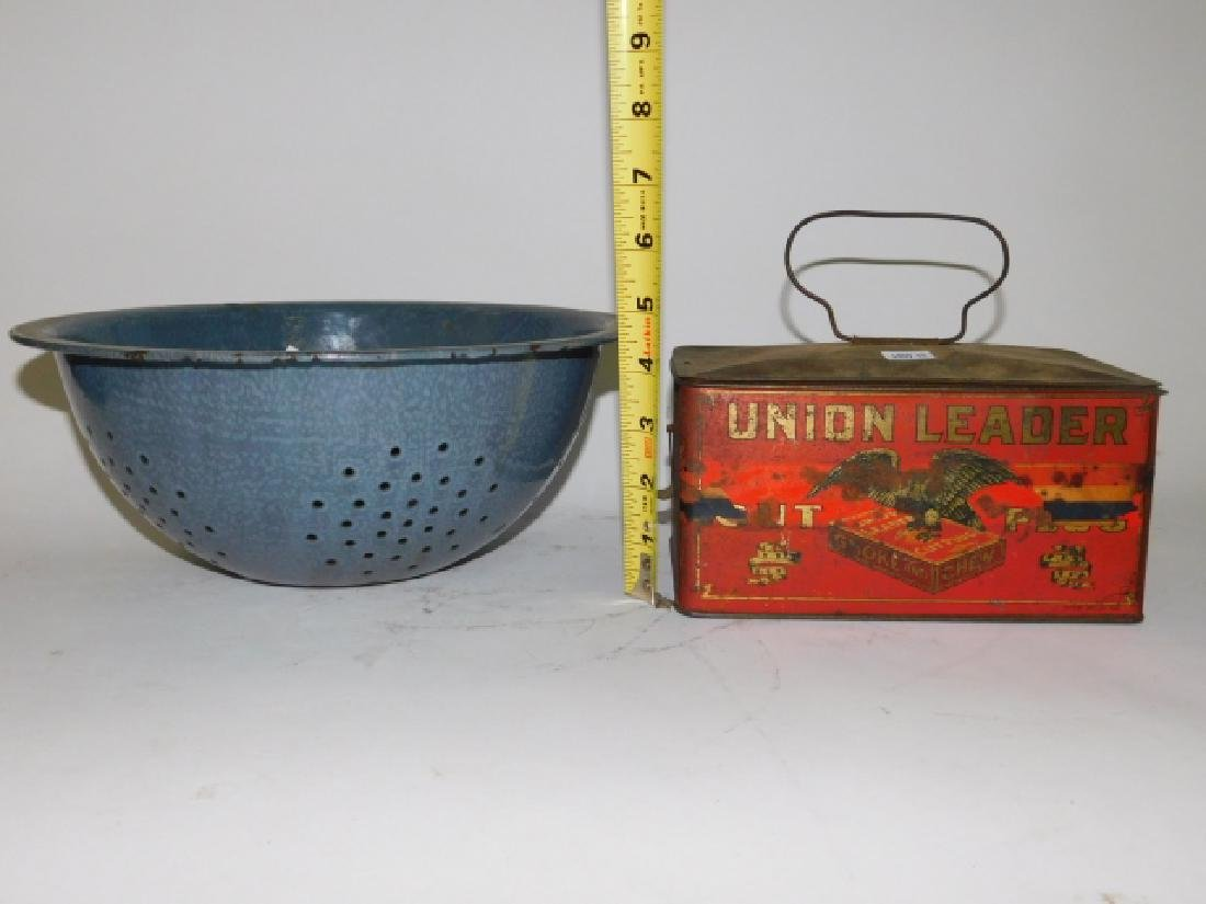 TOBACCO TIN AND STRAINER - 2