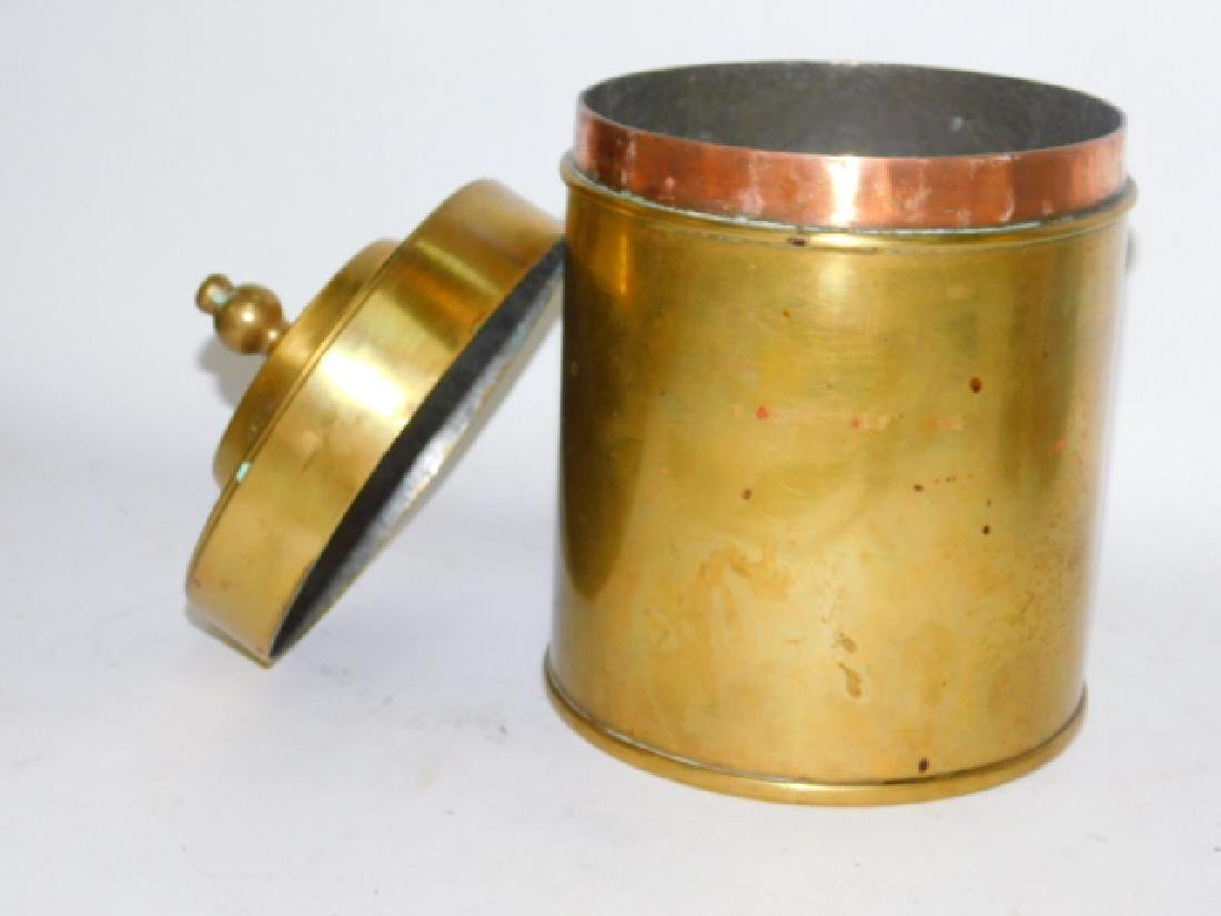 BRONZE COVERED URN - 2