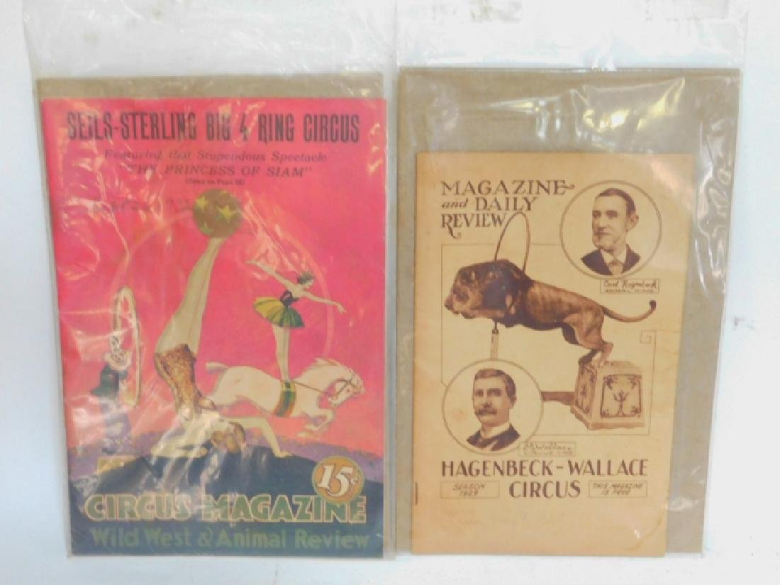 TWO CIRCUS MAGAZINES