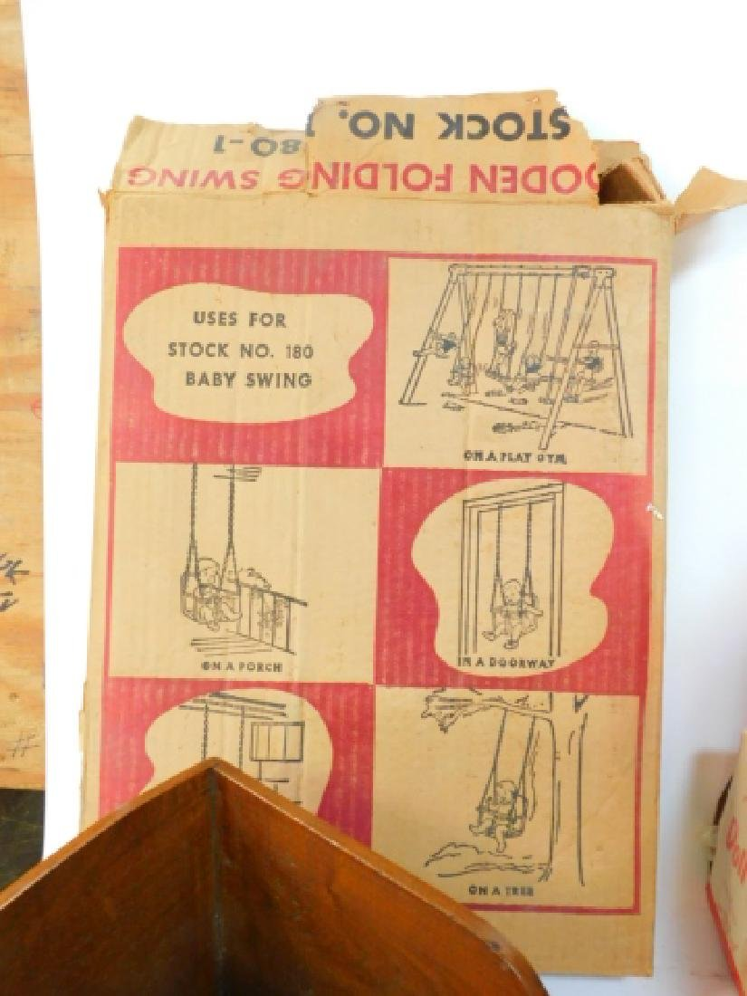 LARGE COLLECTION OF WOODEN DOLL HOUSE FURNITURE - 3