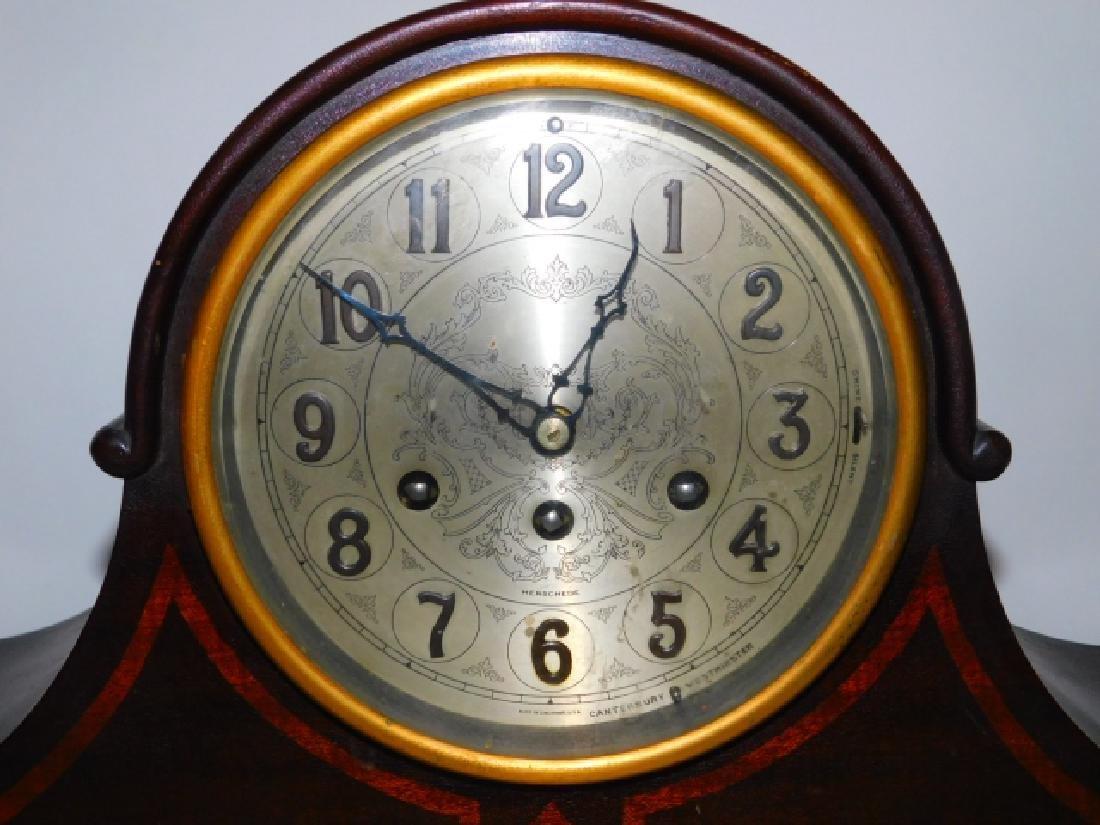 HERSCHEDE HALL MANTEL CLOCK - 2