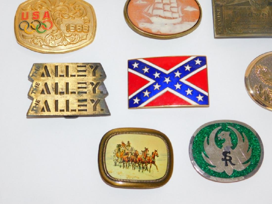 BELT BUCKLE COLLECTION - 4