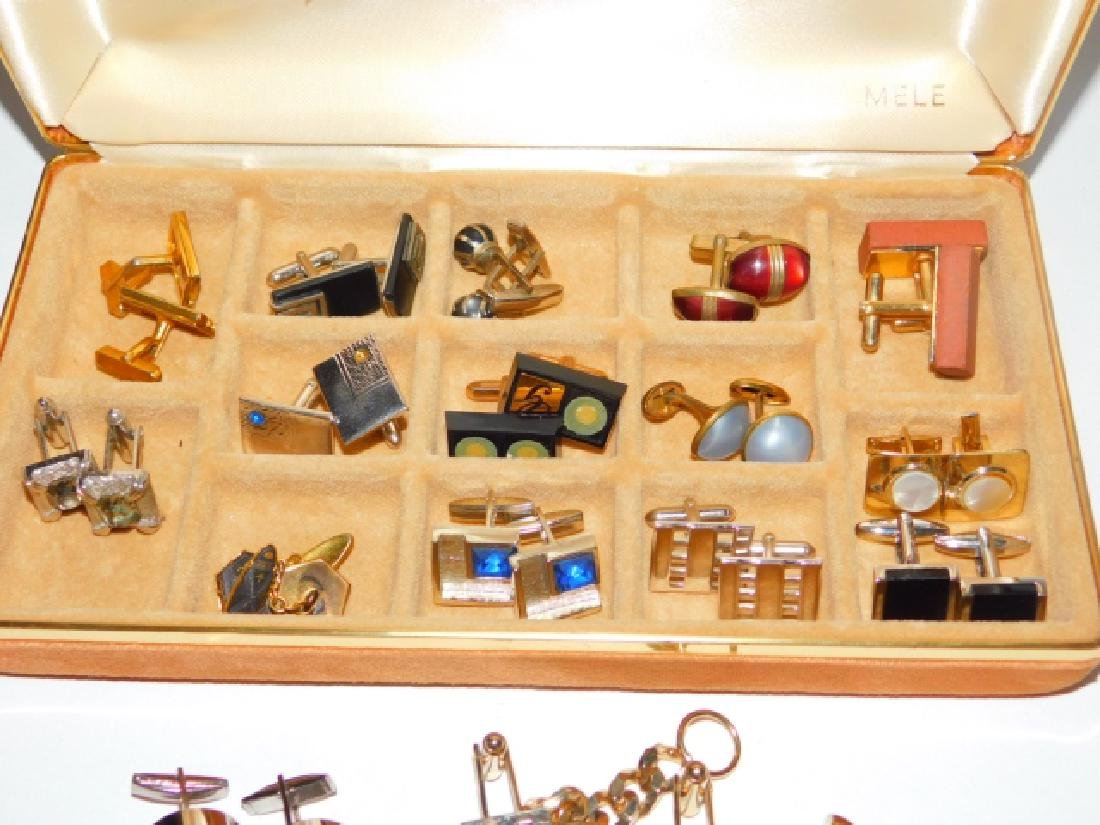 CUFFLINK AND TIE CLIP COLLECTION WITH BOX - 2