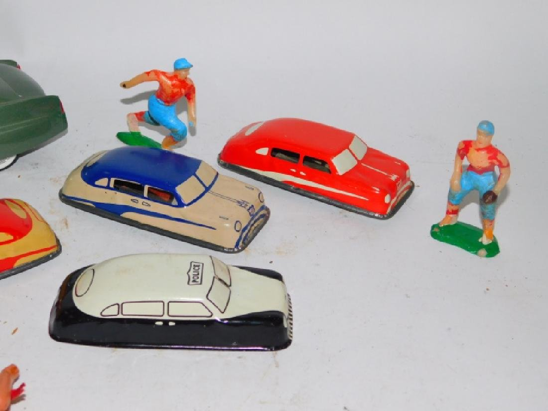 COLLECTION OF TOY CARS AND FIGURES - 3