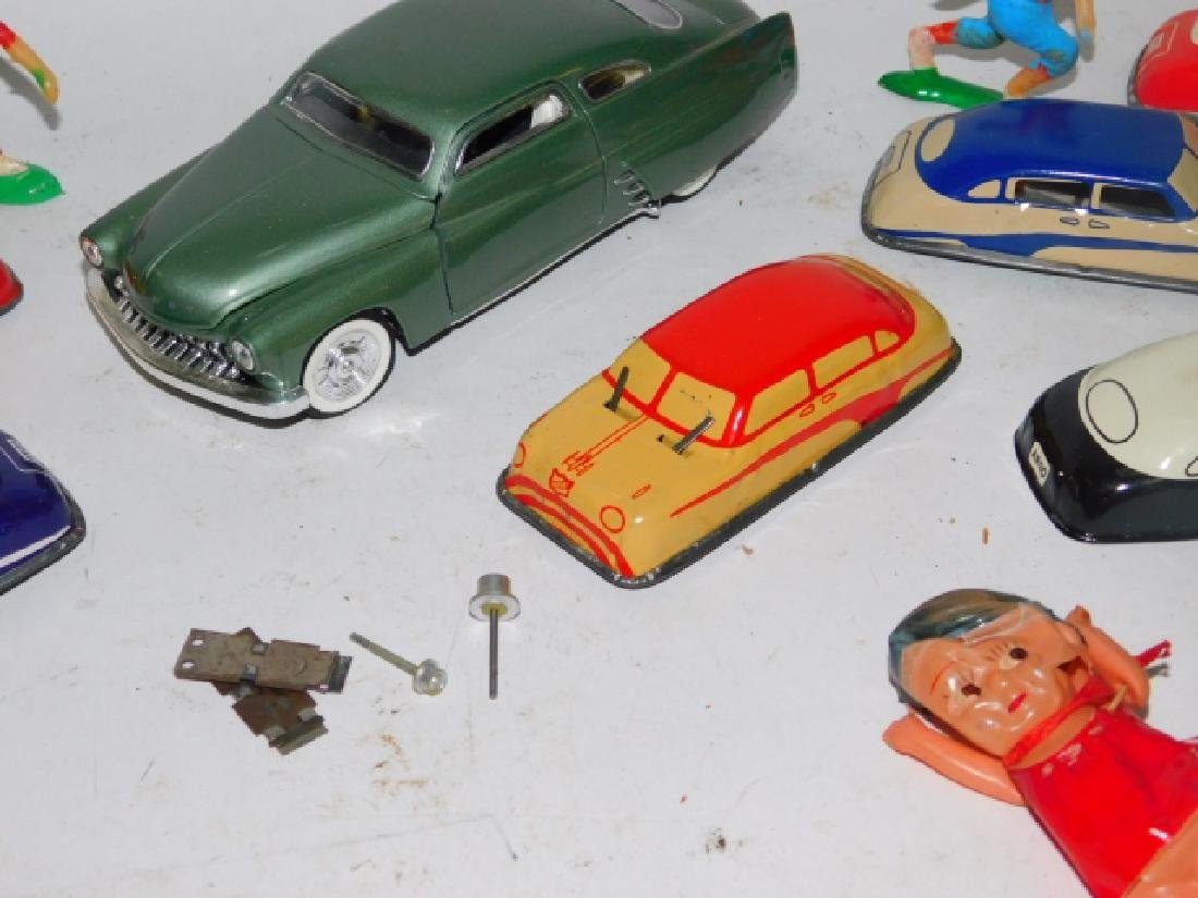 COLLECTION OF TOY CARS AND FIGURES - 4