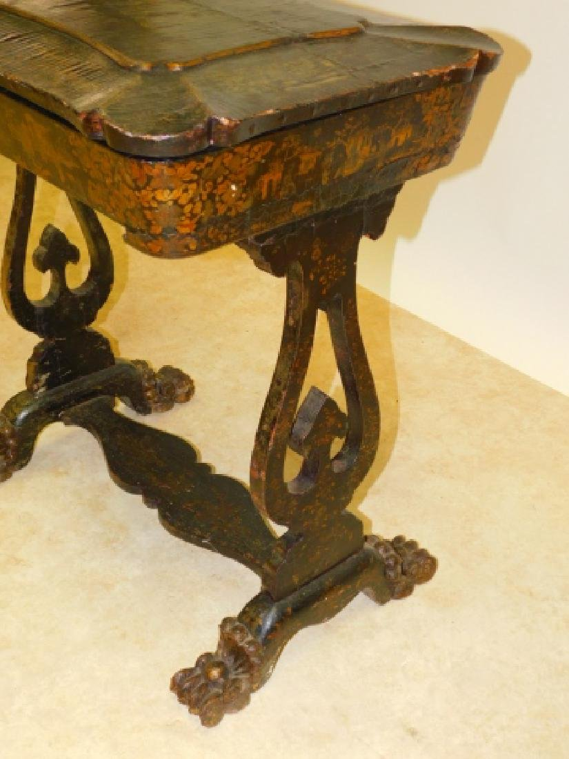 CHINOISERIE SEWING TABLE - 3