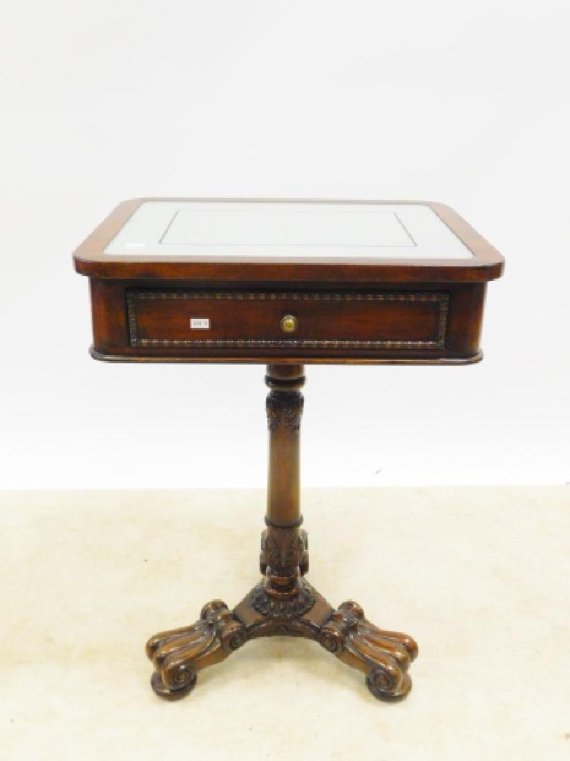 JOHN SMITHE MIRROR TOP END TABLE