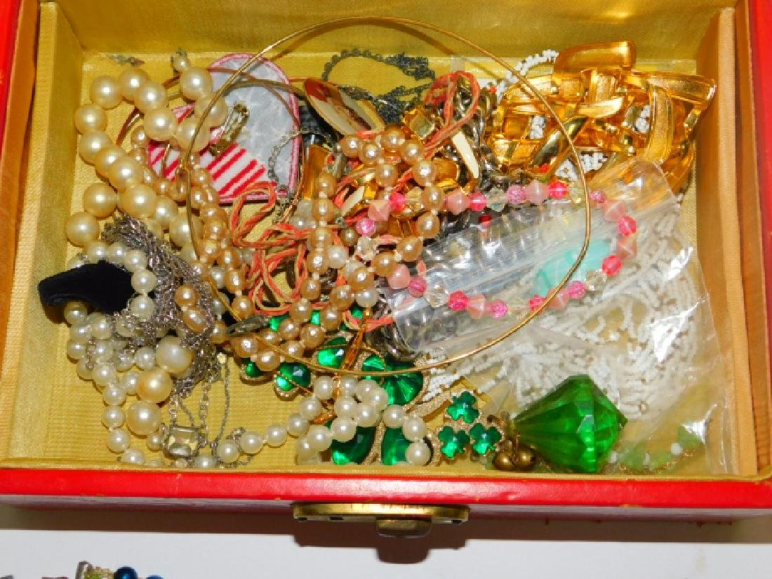 COSTUME JEWELRY WITH BOX - 6
