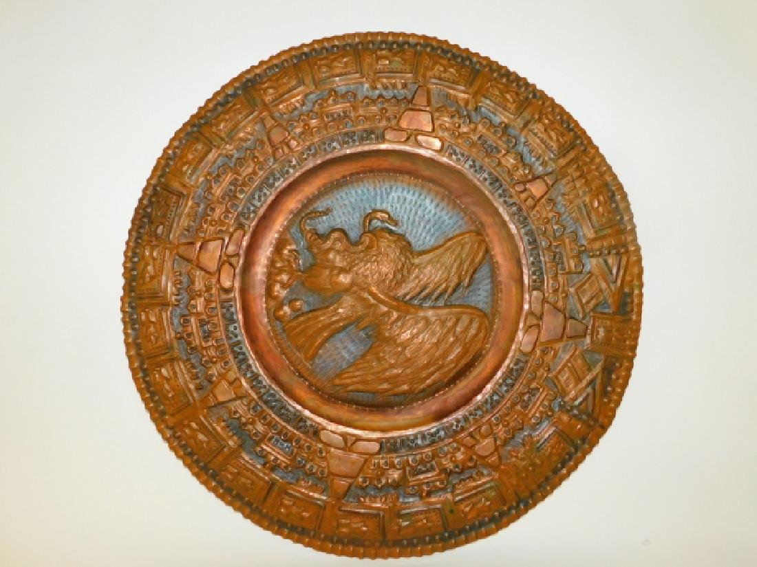 HAND HAMMERED COPPER TRAY
