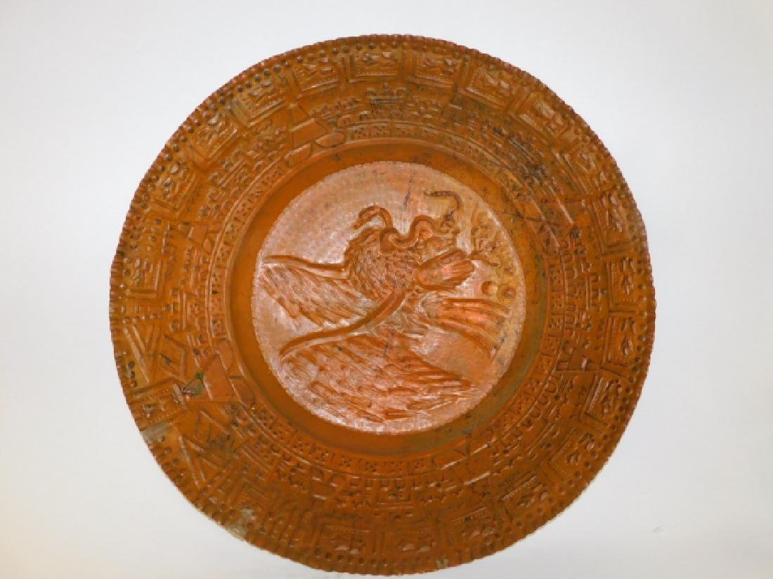 HAND HAMMERED COPPER TRAY - 4