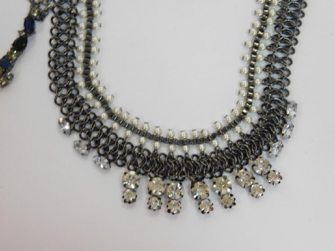 LOT OF COSTUME NECKLACES - 5