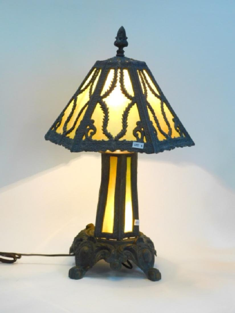 CONTEMPORARY LEADED LAMP