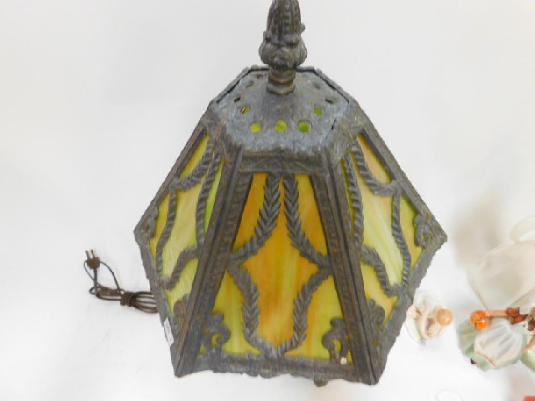CONTEMPORARY LEADED LAMP - 4