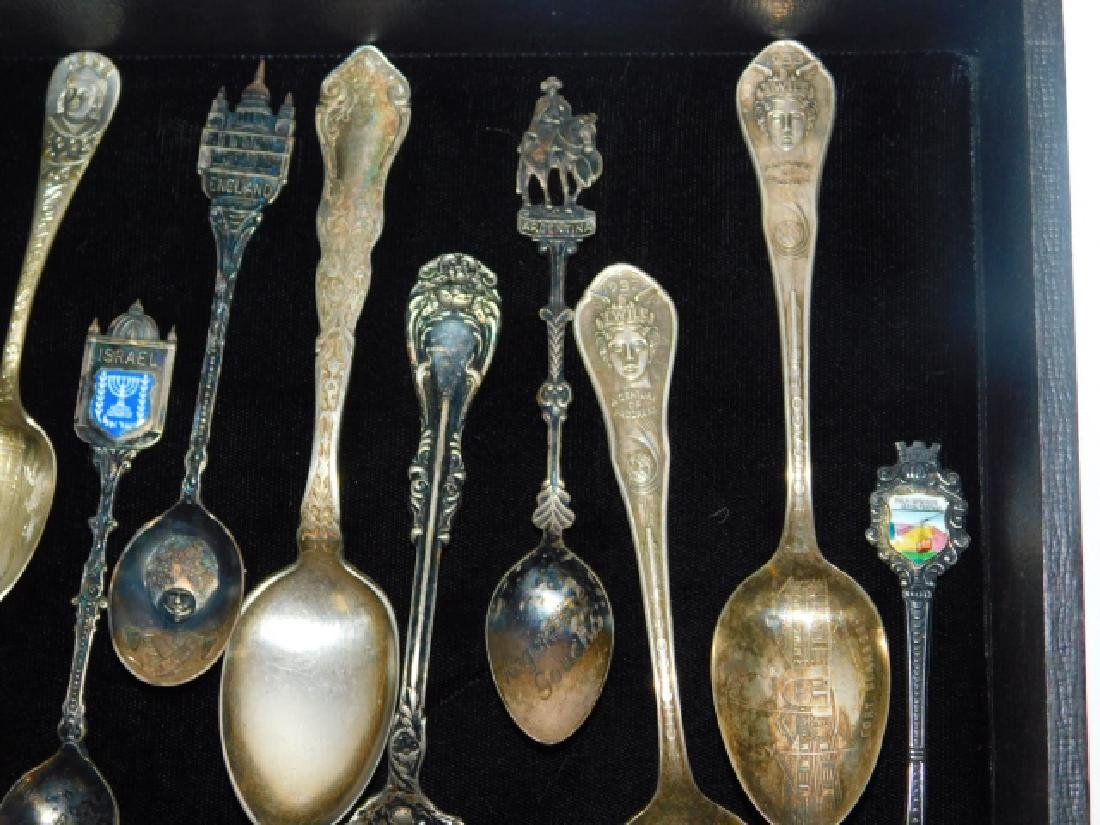 COLLECTION OF SOVEREIGN SPOONS - 2