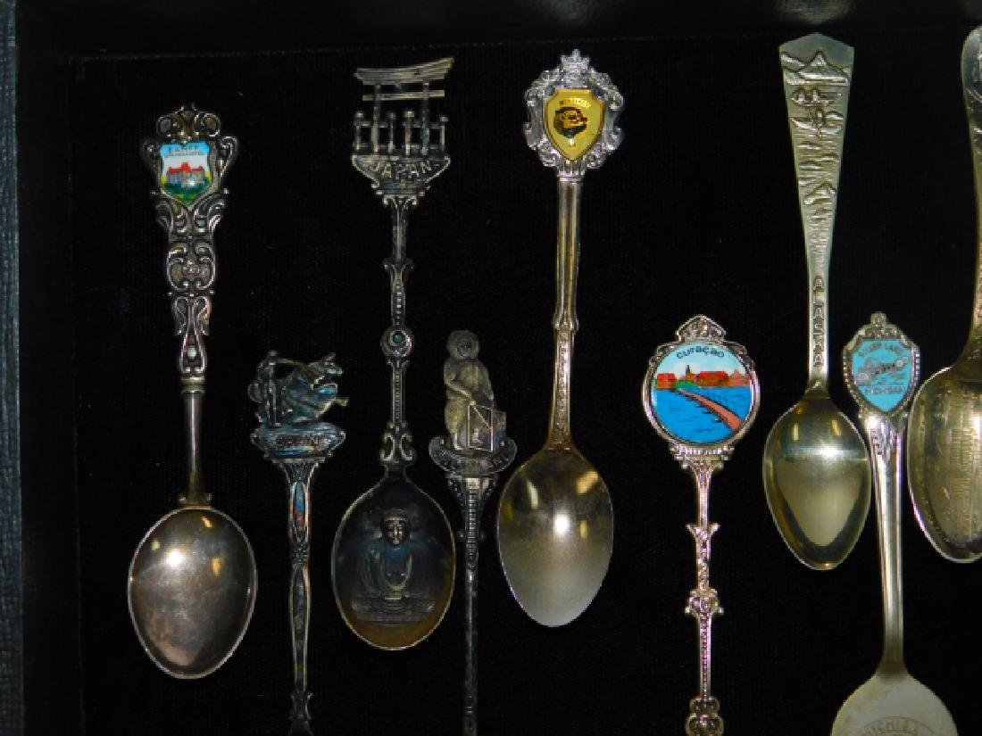COLLECTION OF SOVEREIGN SPOONS - 3
